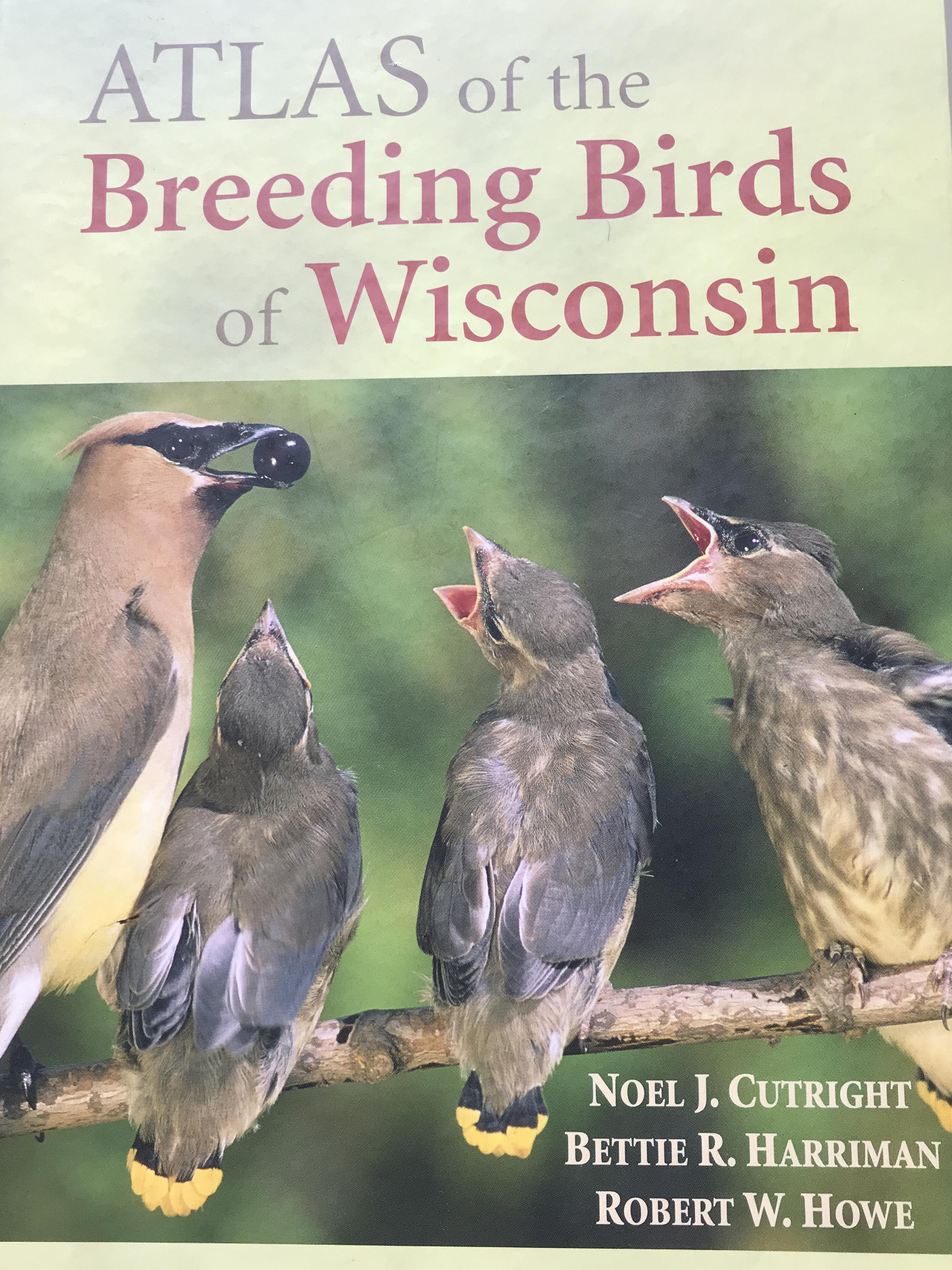 Atlas of the Breeding Birds of Wisconsin